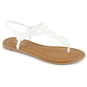 x-appeal Shoes - 🌸✨White braided sandals